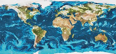 EEC Radar Global Mosaic Image Software - World weather radar